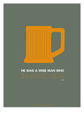 Orange Beer Mug Posters by  NaxArt