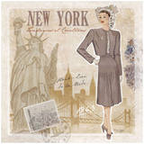 Mode New York Prints by Bruno Pozzo