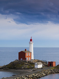 Canada, British Columbia, Vancouver Island, Victoria, Fisgard Lighthouse Photographic Print by Walter Bibikow
