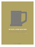 Grey Beer Mug Posters by  NaxArt