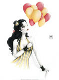 Mam'zelle Nini Poster by  Misstigri