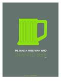 Green Beer Mug Art by  NaxArt