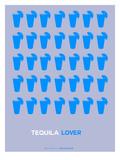 Blue Tequila Shots Affiches par  NaxArt