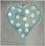 Cœur Bleu Konst av Marielle Paccard
