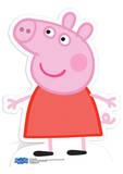 Peppa Pig, Peppa Cochon, masques Silhouettes découpées en carton