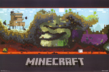 Minecraft World Video Game Poster Posters