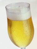 A Glass of Beer Photographic Print by Tarek Mourad