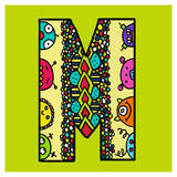 Letter M Posters by Emi Takahashi
