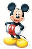 Mickey Mouse Silhouettes découpées en carton