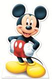 Mickey Maus Pappaufsteller lebensgroß