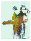 Bugatti Girl Kunstdrucke von  NaxArt