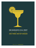 Yellow Margarita Prints by  NaxArt
