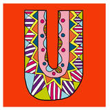 Letter U Posters by Emi Takahashi