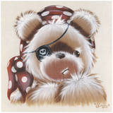 Nounours Pirate Prints by Stephanie Holbert