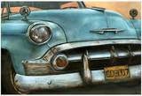 Chevrolet Bel Air Bleue Posters by  Cobe
