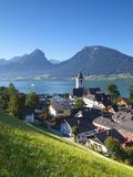 St. Wolfgang, Wolfgangsee Lake, Flachgau, Upper Austria, Austria Photographic Print by Doug Pearson