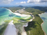 Hill Inlet, Whitsunday Islands, Queensland, Australia Photographic Print by Peter Adams