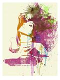 Challenger Girl Kunstdrucke von  NaxArt