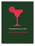 Pink Margarita Posters por  NaxArt
