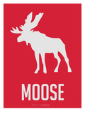 Moose Red Art by  NaxArt