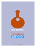 Orange Tequila Posters par  NaxArt