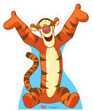 Tigger - Pooh's Friend Papfigurer