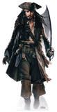 Captain Jack Sparrow (Sword) Silhouette en carton
