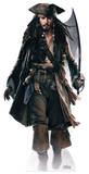 Captain Jack Sparrow (Sword) Papfigurer
