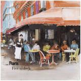 Terasse Café Art by  Lizie