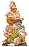 Seven Dwarves Figuras de cartón