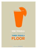 Orange Tequila Shot Posters by  NaxArt