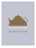 Tea Poster Green Kunstdruck von  NaxArt