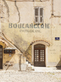 France, Corsica, Haute-Corse Department, Central Mountains Region, Corte, Old Boulangerie Bakery Si Photographic Print by Walter Bibikow