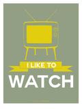 I Like to Watch 1 Print by  NaxArt