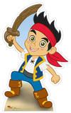 Jake - Jake and the Neverland Pirates Silhouettes découpées en carton
