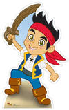 Jake - Jake and the Neverland Pirates Pappfigurer