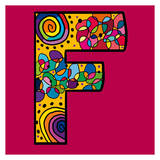 Letter F Prints by Emi Takahashi
