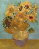 Sunflowers, c.1889 Plakater af Vincent van Gogh