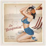 La Basquaise Poster by Bruno Pozzo