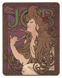 Job, c.1898 Posters av Alphonse Mucha