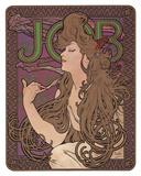 Job, c.1898 ポスター : アルフォンス・ミュシャ