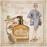 Parfum de Jour Posters by Bruno Pozzo
