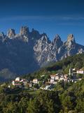 France, Corsica, Corse-Du-Sud Department, La Alta Rocca Region, Zonza Photographic Print by Walter Bibikow