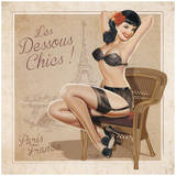 Les Dessous Chics Posters by Bruno Pozzo
