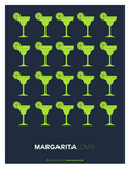 Yellow Margaritas Poster Prints by  NaxArt