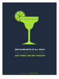 Green Margarita Plakater af  NaxArt