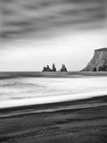 Black Sand Beach at Vik, Iceland Photographic Print by Nadia Isakova