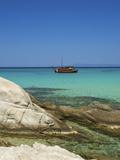 Portokali Beach, Kavourotypes, Sithonia, Halkidiki, Greece Photographic Print by Katja Kreder
