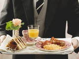 English Breakfast on Tray Photographic Print
