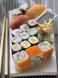 Assorted Sushi Photographic Print